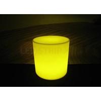 LED Stoel Cilinder met Multikleuren