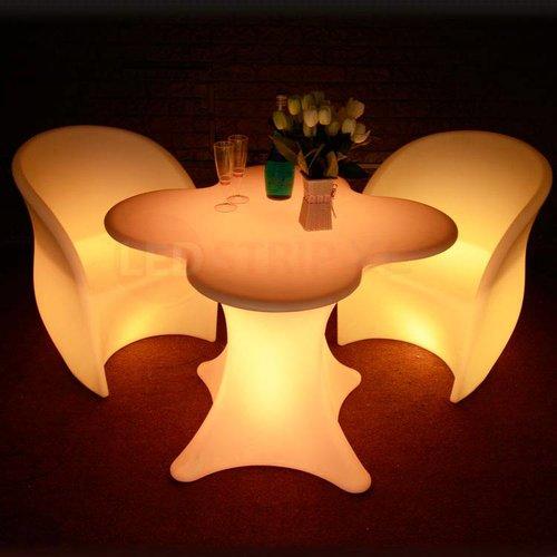 LED Armstoel / Fauteuil met RGB Multikleuren