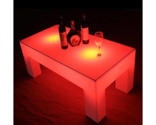 Vierpotige LED Tafel 120 x 60 x 47 cm