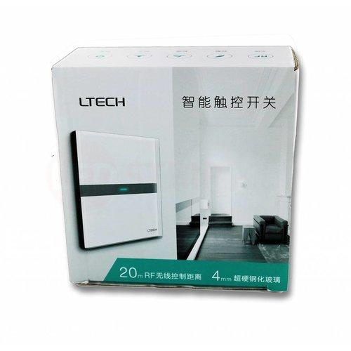 LTECH Draadloos 433Mhz Touch Paneel 2 kanaals