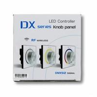 LTECH RGB LED Wandpaneel met draaiknop 2.4G RF en DMX512