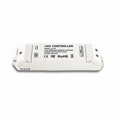 LTECH Draadloze LED Controller/Ontvanger T4-CV