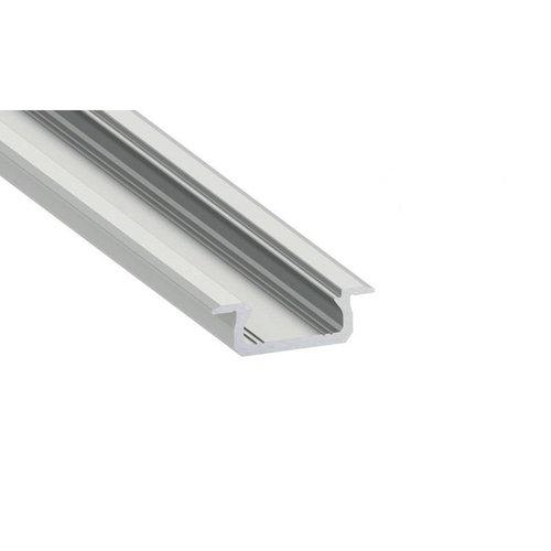 Lumines Aluminium Inbouw Profiel Laag 1 meter