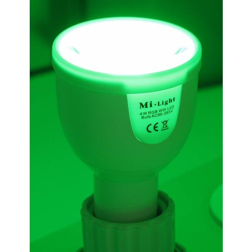 Milight RGBW LED Spot 5 Watt GU10