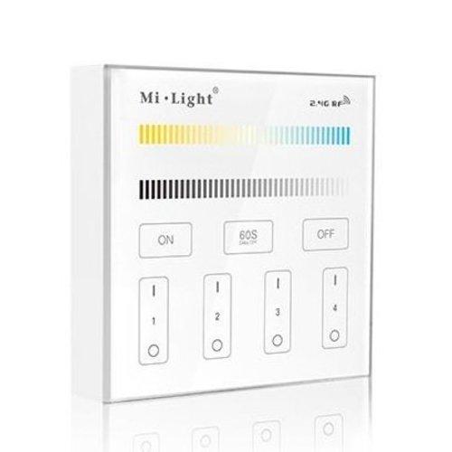 Milight / MiBoxer 2.4GHz Wandpaneel voor Dual White LED Strips