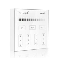 2.4GHz Wandpaneel voor LED Strips enkele kleur