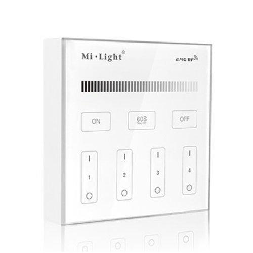 Milight / MiBoxer 2.4GHz Wandpaneel voor LED Strips enkele kleur
