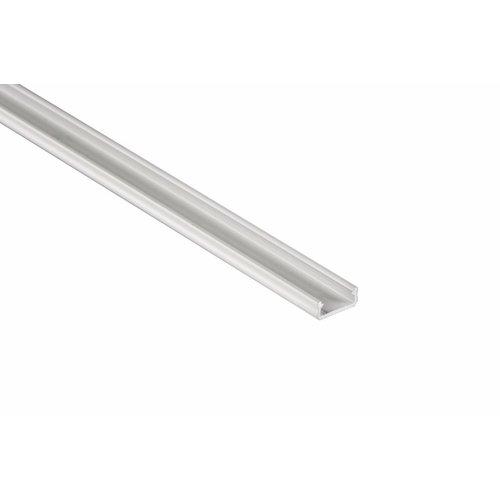 Lumines Aluminium opbouw profiel plat 1 meter