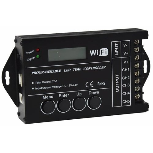 TC421 WiFi en USB LED Tijd Controller