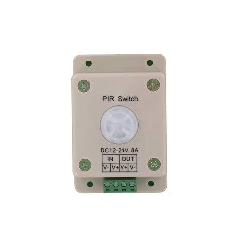 ledstrip opbouw bewegingsmelder met PIR sensor voor 12-24V strips