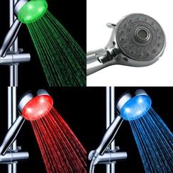 LED Douchekop met RGB kleuren