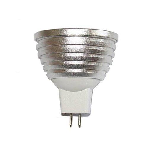 Dolphix MR16 /GU5.3 RGB LED-spot met afstandsbediening – 3 Watt
