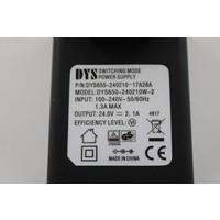 DYS LEDstrip voedingsadapter 24V-2.1A – 50 Watt - TÜV keurmerk - Efficiëntielevel 6