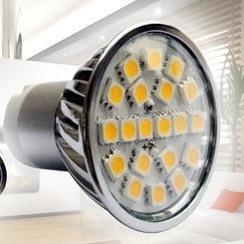 LED Spot met GU10 fitting - 4 Watt - SMD5050 helder wit