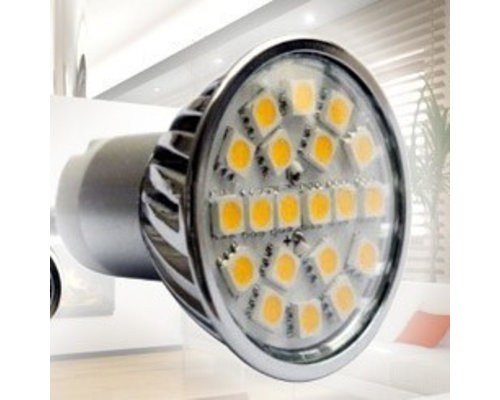 LED Spot met GU10 fitting - 4 Watt - SMD5050 helder wit