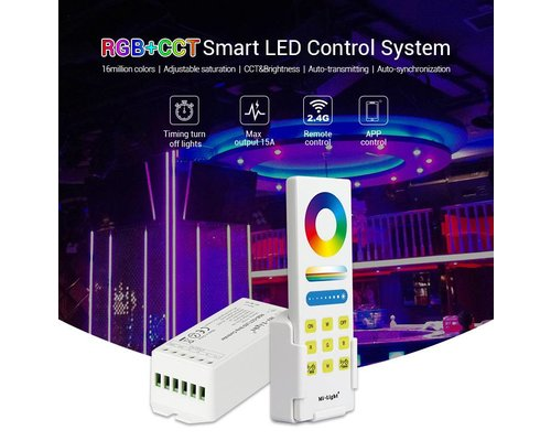 Milight Mi-Light RGB+CCT Smart LED controller set FUT045A