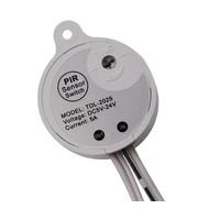 Micro PIR Sensor Tijd instelbaar Wit met Aansluitingen