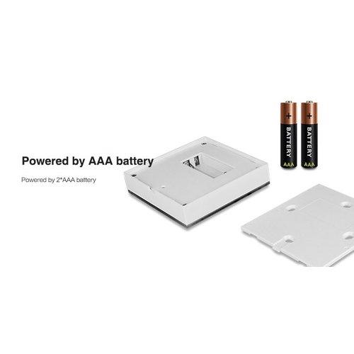 Milight / MiBoxer Draadloos 2,4Ghz Wandpaneel 4 Zone RGB+CCT