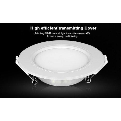 Milight / MiBoxer 6 Watt RGB + Warm Wit + Koud Wit CCT Downlight Dual White