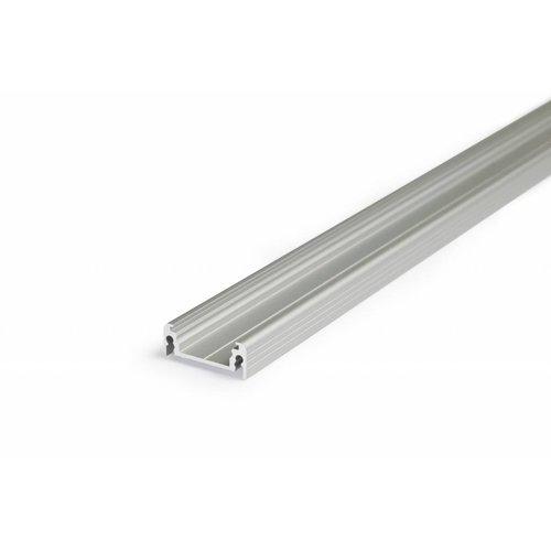 TOPMET Aluminium opbouw profiel voor 14mm strips 2 meter Surface14