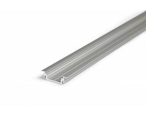 TOPMET Aluminium inbouw profiel voor 14mm strips 1 meter