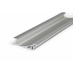 Aluminium inbouw profiel met verticale schijnhoek