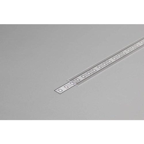 TOPMET Transparante Cover 1m voor 10mm TOPMET profielen