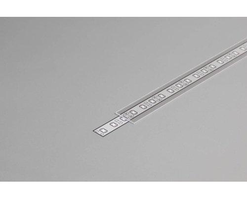 TOPMET Transparante Cover 2m voor 10mm TOPMET profielen