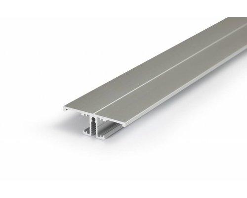 TOPMET Aluminium T profiel 2 meter voor indirect licht