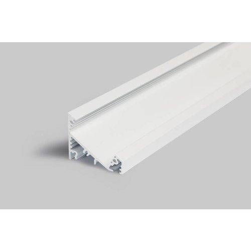 TOPMET XL 27mm Aluminium hoek profiel 2 meter 60/30 graden Corner27