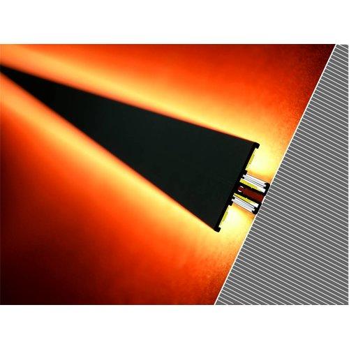 TOPMET Aluminium T profiel 2 meter voor indirect licht Back10