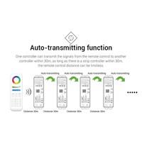 Milight Amazon Alexa 5in1 Wifi LEDStrip Controller voor Android en iOS