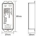 Milight / MiBoxer RGB LEDStrip Losse Zone controller