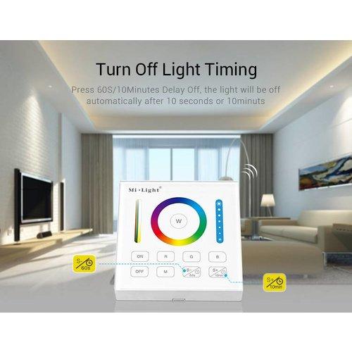 Milight / MiBoxer Smart Wandpaneel voor RGB, RGWB en RGB+CCT Zone  Controllers