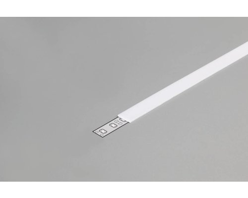 TOPMET SLIM Milky Cover 2m voor 10mm TOPMET profielen