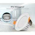 Milight / MiBoxer 6 Watt RGB + Warm Wit + Koud Wit CCT Downlight Waterdicht IP54