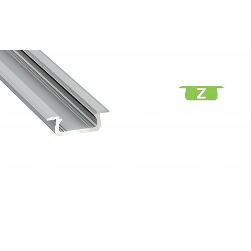 Lumines Aluminium Inbouw Profiel Laag 2m