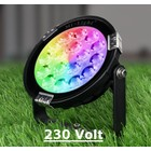 Milight 9 Watt 230 Volt RGB + Warm Wit + Koud Wit Tuinlamp