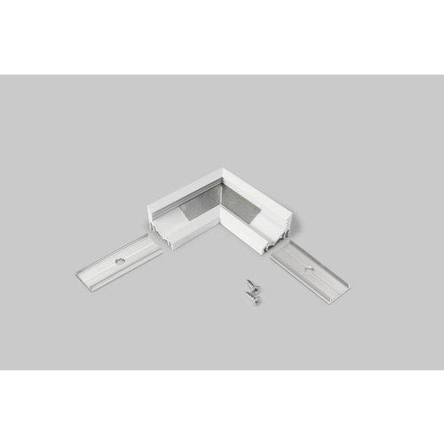 TOPMET 90 graden hoek connector voor 60/30 graden profiel 10mm Corner10