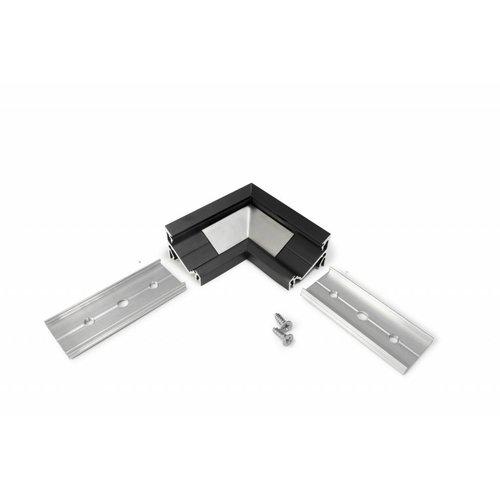 TOPMET 90 graden hoek connector voor 60/30 graden profiel 14mm Corner14