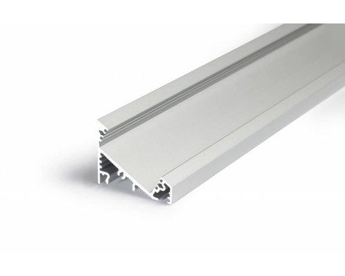 TOPMET XL 27mm Aluminium hoek profiel 1 meter 60/30 graden