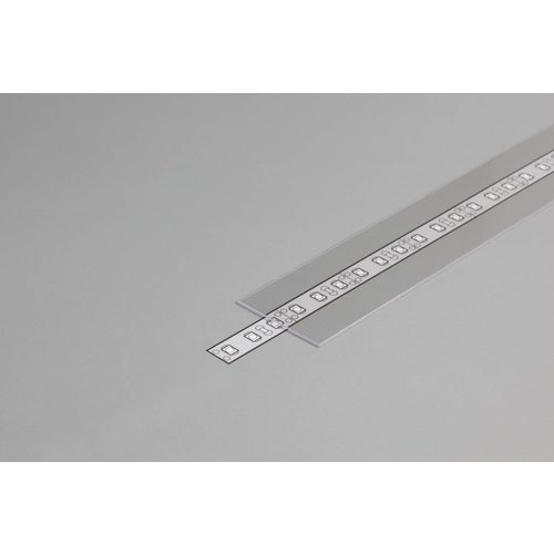 TOPMET Transparante Cover 1m voor 27mm TOPMET profielen