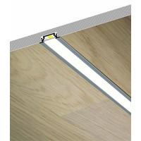 TOPMET Aluminium inbouw profiel 1 meter voor 10mm ledstrips