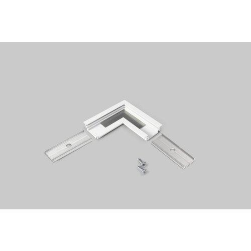 TOPMET 90 graden hoek connector voor Topmet inbouw profiel Groove10
