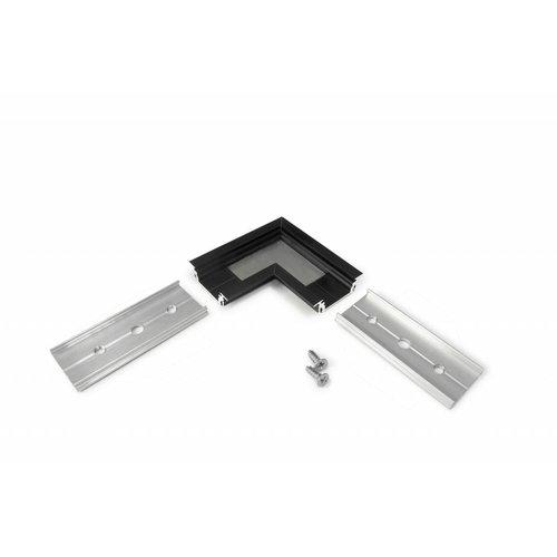 TOPMET 90 graden hoek connector voor Topmet inbouw profiel Groove14