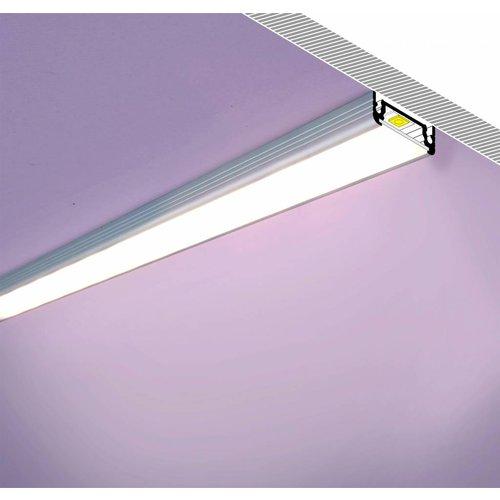 TOPMET Aluminium opbouw profiel voor 14mm strips 1 meter Surface14