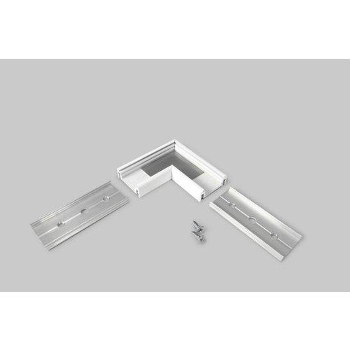 TOPMET 90 graden hoek connector voor Topmet opbouw profiel Surface14