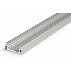 Aluminium opbouw profiel voor 14mm strips 2 meter