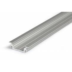 Aluminium inbouw profiel voor 14mm strips 1 meter