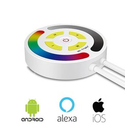 Touch RGB WiFi LED Controller Amazon Alexa, Android en iOS